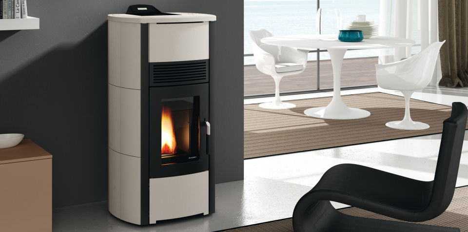 Poele ecofire camilla 12 kw canalisable for Fireland stufe