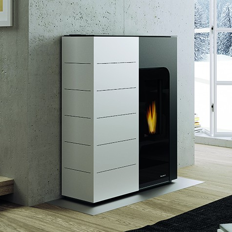 po le granul palazzetti ecofire ginger 15 kw hydro. Black Bedroom Furniture Sets. Home Design Ideas