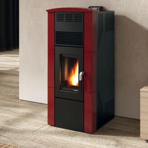 Poele ecofire rossella 12 kw canalisable - Poele a granule canalisable ...