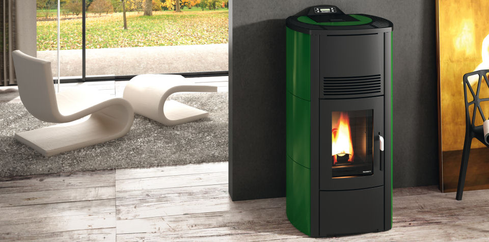 Poele ecofire cristina 12 kw canalisable for Fireland stufe