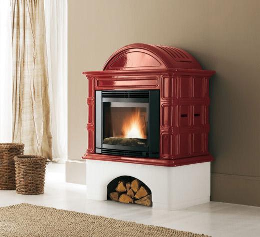 320 GINEVRA poêle cheminée à pellets